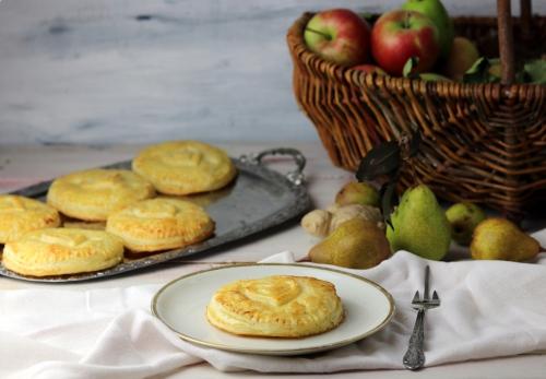 Marzipan-Birnen-Ingwer-Handkuchen