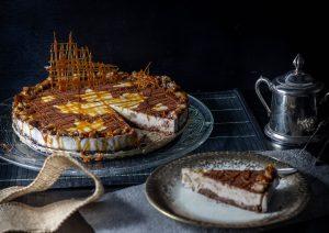 Maronen Panna Cotta Torte