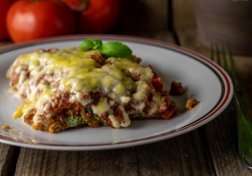 Mit veganem Käse