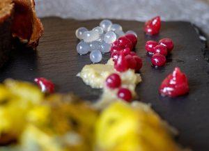 Fruchtiger Beeren- und Ingwerkaviar