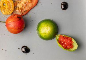 Aromatische Tomatenperlen