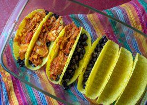 Füllen der Tacos
