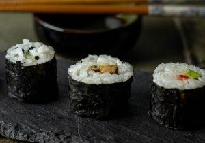Füllung: Shitake-Teriyake-Räuchertofu