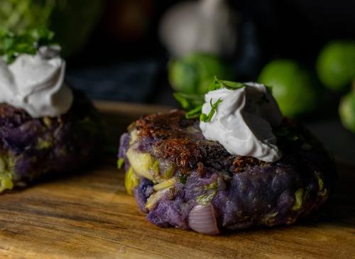 Toll mit veganem Kräuterquark