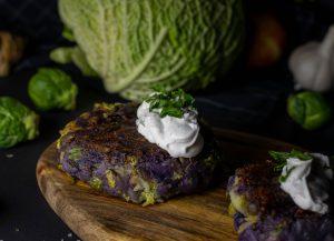Geht auch mit lila Kartoffeln