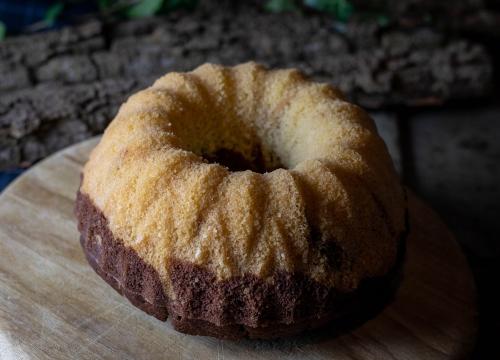 Frisch gebacken, luftig und lecker