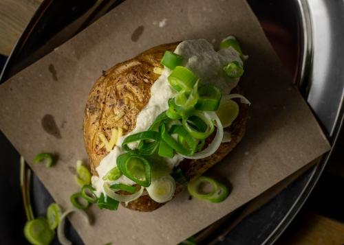Leckere Ofenkartoffel