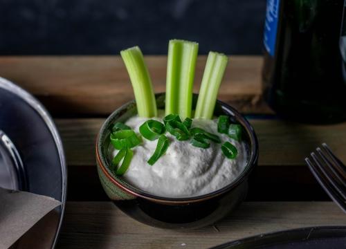 Köstliche vegane Sour Cream