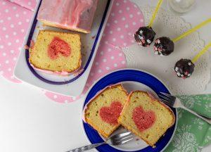 Zitronenkuchen und Cake Pops