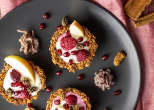 Frühstücks-Müsli-Cupcakes