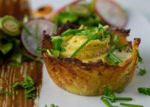 Im Kartoffelpuffernest