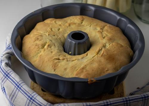 Pot Pie frisch aus dem Ofen