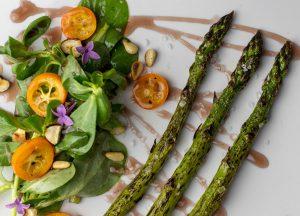 Süß-saure Kumquats ergänzen den Salat perfekt