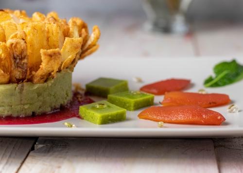 Tomatenthunfisch: ein mundvoll Umami