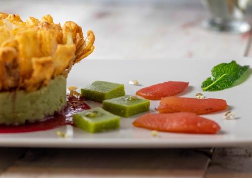Tomatenthunfisch, lauwarm und täuschend echt