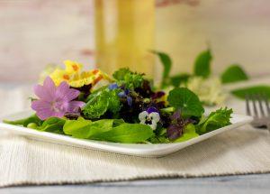 Köstlich auf Salat