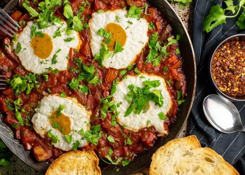 Shakshuka, israelisches Frühstück