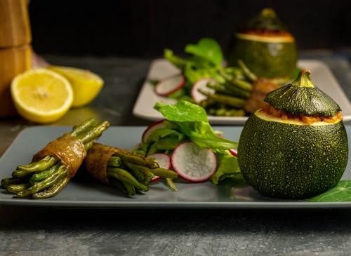 Mit Veta in der Zucchinifüllung