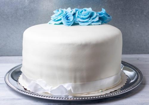 Hochzeitstorte für Freunde als Geschenk