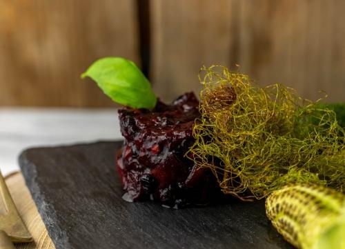 Aprikosen-Fliederbeer-Chutney