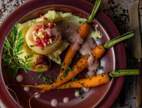 Regionale und herbstlich saisonale Gemüse