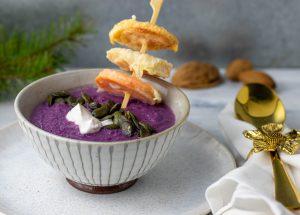 Cremige Rotkohlsuppe