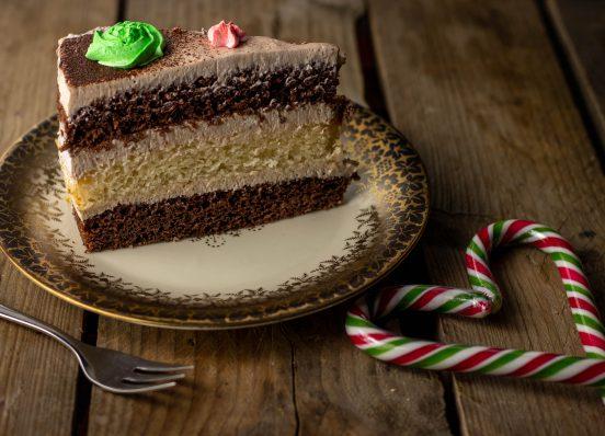 Baileys-Torte, mit selbstgemachtem, veganem Baileys
