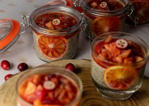 Mit bitterlich-süßem Cranberrykompott