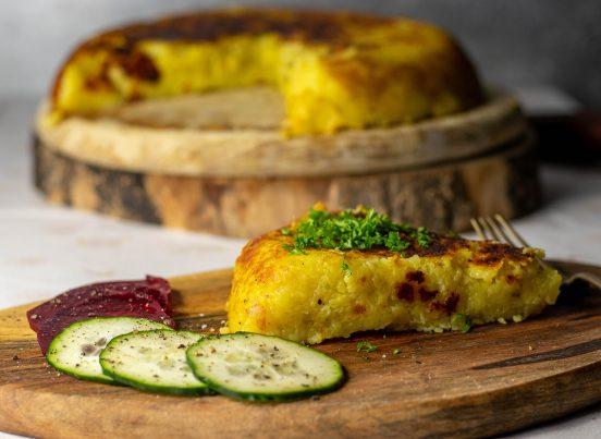 Schweizer Rösti, eine leckere Kartoffelspeise