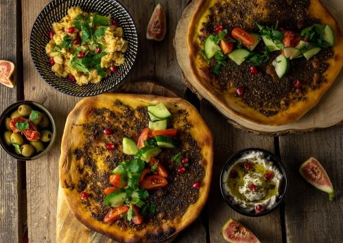 Levante Küche: kleine Snacks, gemeinsam teilen