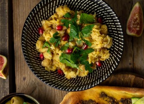Balila, aromatisch und würzig, aus Kichererbsen