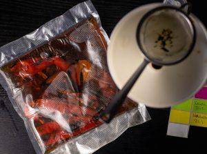 Paprikaessenz, Sous Vide gekocht