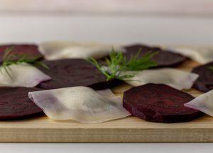 Laktofermentierte Rote Beete, aromatisch und salzig
