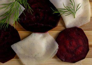 Die Rote Beete ist frisch fermentiert