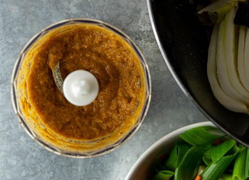 Fertige Kimchi Würzpaste