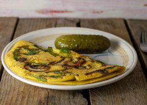Veganes Omelette, ganz ohne Ei