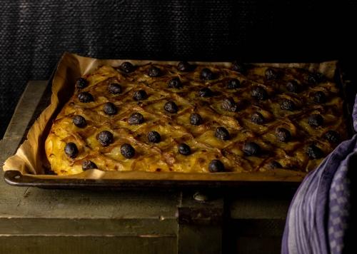 Pissaladière - frisch aus dem Ofen