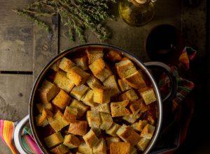 Ribollita - frisch überbacken aus dem Ofen