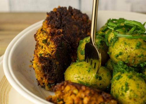 Ein einfaches, leckeres Essen, wie aus Omas Küche.