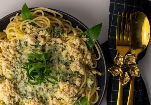 Wunderbare Frühlingsspaghetti!