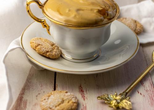 Köstlich als Keks zum Kaffee