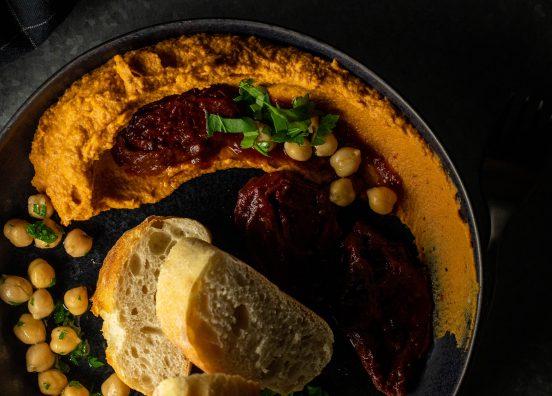 Chipotle Hummus - feurig und rauchig - in 10 Minuten fertig