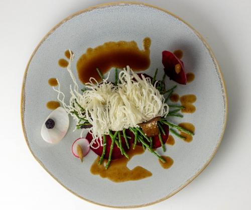 Auch die köstliche Sauce enthält laktofermentierten Knoblauch