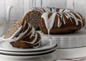 Zitronen-Mohnkuchen, einfacher Rührkuchen, kinderleicht gebacken