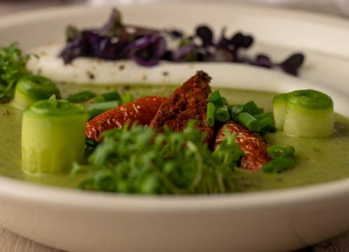 Schnittlauch-Kartoffel-Suppe