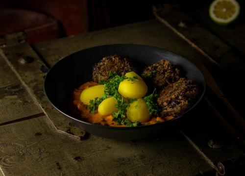 Mit leckeren Petersilienkartoffeln