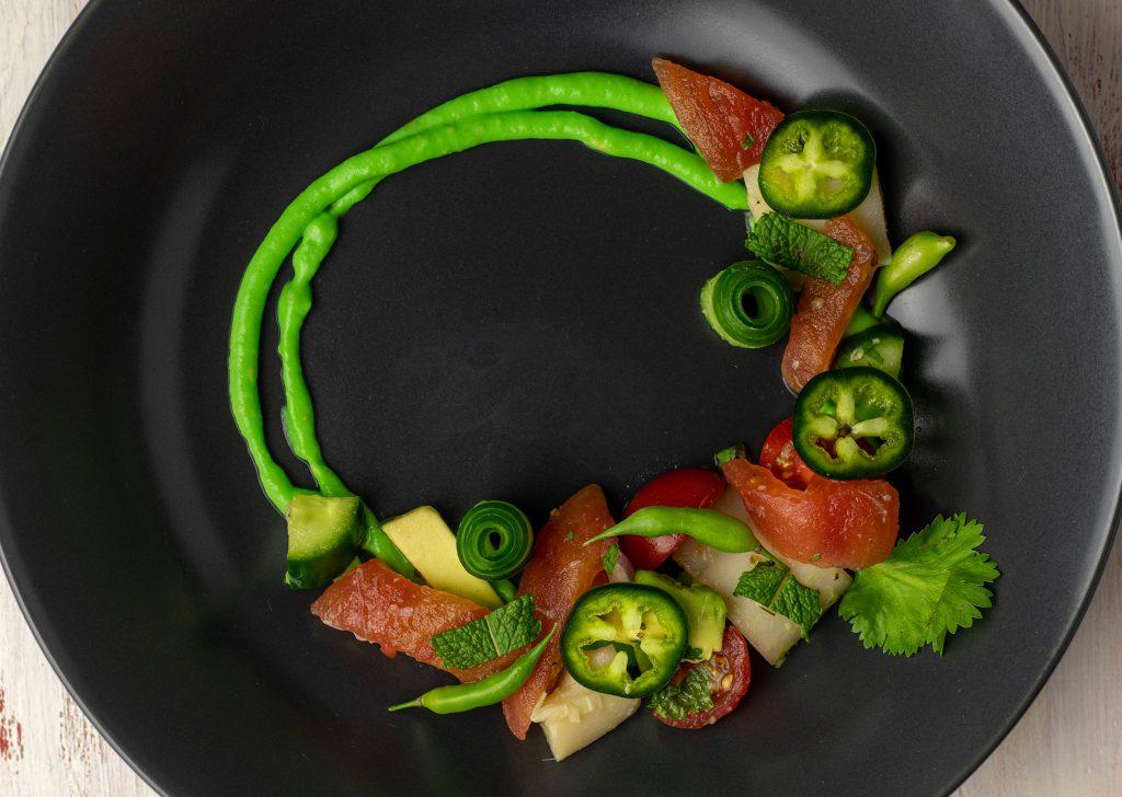 Ceviche - vegan mit zweierlei 'Fisch'