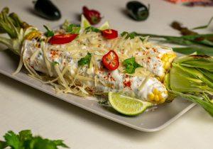 Mexikanische Maiskolben - Leckeres Streetfood
