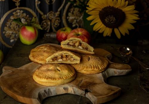 Hand Pies mit fruchtiger Apfelfüllung