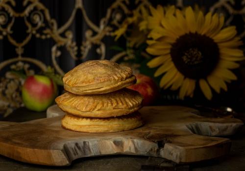 Gefüllt mit alten Apfelsorten